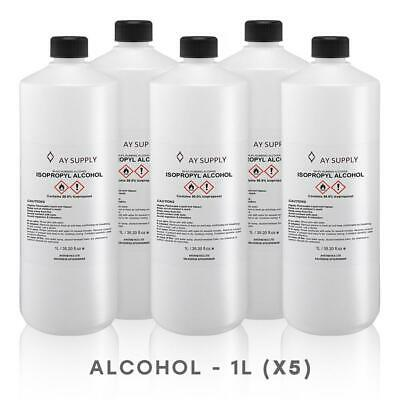 ISOPROPYL ALCOHOL 99.9% Pure IPA ISOPROPANOL 1L Litre UP TO 5L
