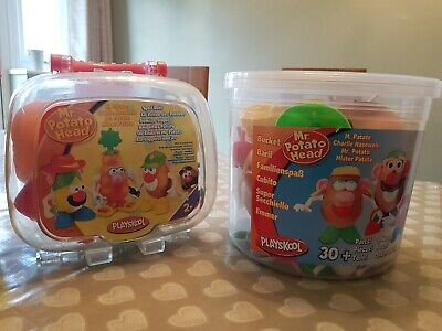 Mr potato head bundle and play-doh barbecue set and play-doh tubs and cutters