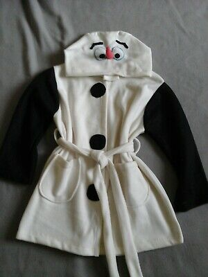 olaf frozen girls dressing gown size 4-5years for sale