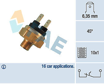 New Fae Coolant Temperature Sensor Gauge 35430 Fit For Seat Volswagen