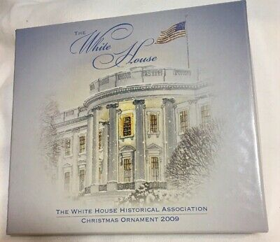 White House Historical Association Christmas Ornament 2009 NEW
