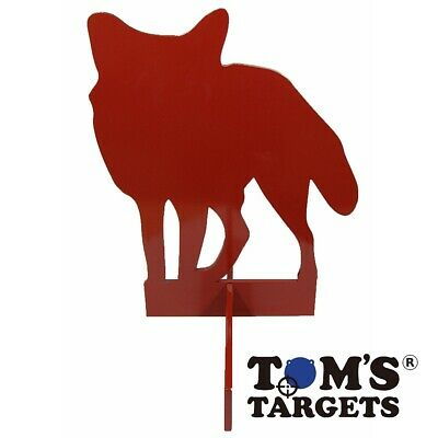 Details about  /Standing Fox Hardox 500 Steel Painted Shooting Rifle Target 12mm Not 10mm Metal