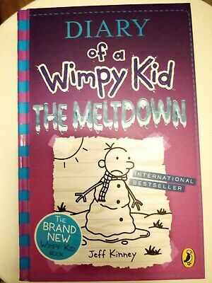 Diary of a wimpy kid books the meltdown
