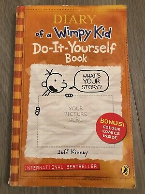 Diary of a Wimpy Kid: Do-It-Yourself Book by Jeff Kinney (Paperback, 2011)