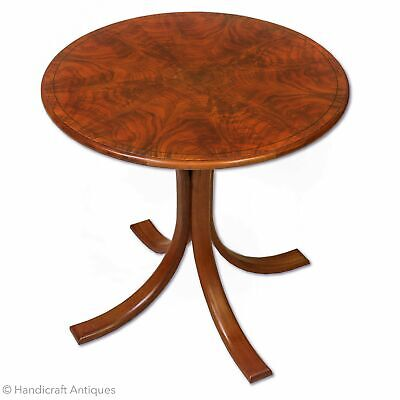 Edward Barnsley Arts & Crafts Cotswold School Walnut Circular Occasional Table