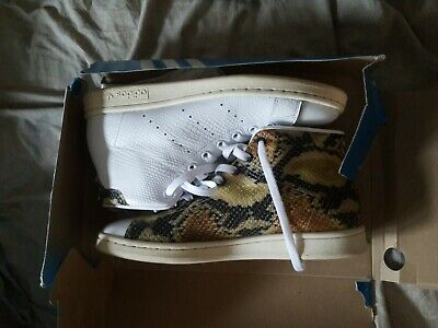 ADIDAS STAN SMITH Mid W Size 6 Us White Leather Bb0109