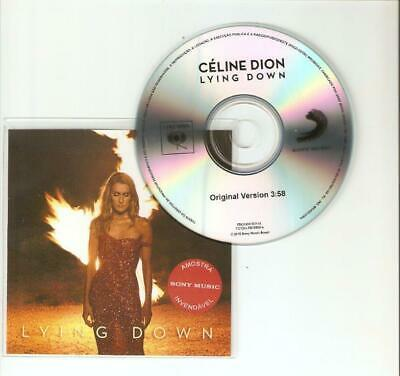 """Celine Dion """"""""Lying Down"""" - New Official Brazilian Cd Promo"""