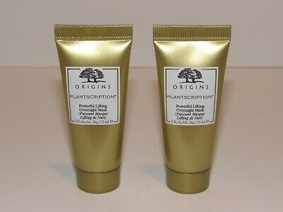 2 Origins Plantscription Powerful Lifting Overnight Mask 1 Oz Total Travel Size