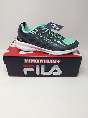 FILA WOMENS COMFORT Running Tennis Shoes Memory Foam
