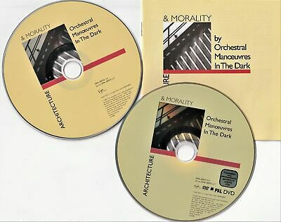 Orchestral Manoeuvres In The Dark (OMD) - Architecture & Morality (CD & DVD)