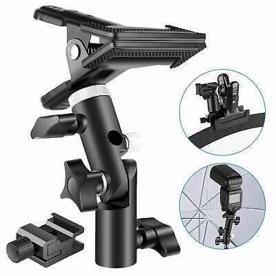 Neewer Photo Studio Heavy Duty Metal Clamp Holder and Cold Shoe Adapter for