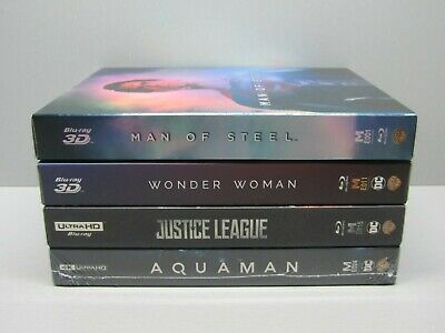 Man Of Steel, Wonder Woman, Justice League, Aquaman - Manta Lab (Set) Full Slips