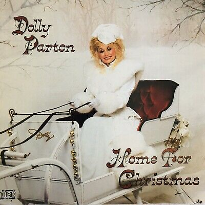 Dolly Parton Home For Christmas Album CD Compact Disc Holiday Music 10 Songs