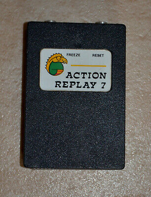 Commodore 64 128 Action Replay 7.2 cartridge