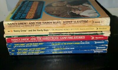 Nancy Drew and The Hardy Boys Books 7 Book Lot