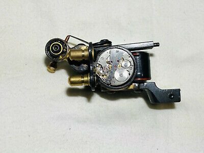 Used Fully Working Professional Coil Tattoo Machine Gun. Customised Watch Design
