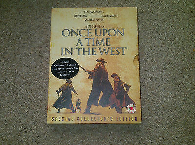 Once Upon A Time In The West (DVD, 2-Disc Set) Special Collector's Edition