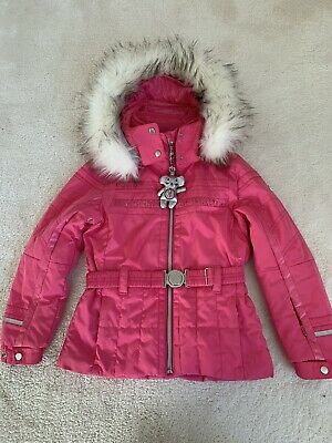 Girls Ski Jacket Age 6 Poivre Blanc