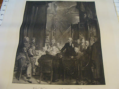 Vintage ORIGINAL Poster: SOME STATESMAN of the GREAT WAR undated 18 x 24