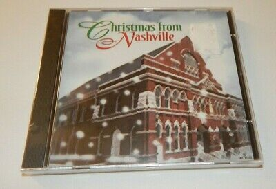 CHRISTMAS From Nashville CD Classic Country Old School Country SEALED