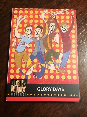 Lights of Broadway Glory Days Card From The 2019 Series