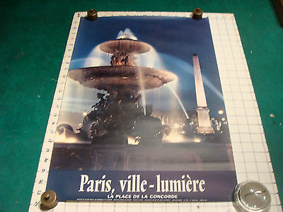 Paqueboat Cruiseliner Louis Lumiere Brenet 1950 VINTAGE ORIGINAL FRENCH POSTER