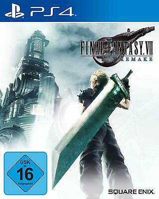 Sony PS4 Playstation 4 Spiel Final Fantasy 7 VII HD Remake NEU NEW 55