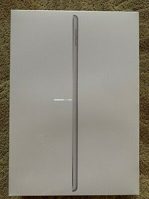 Apple iPad 7th Generation 32GB Wi-Fi ONLY 10.2 in Silver Brand NEW Sealed