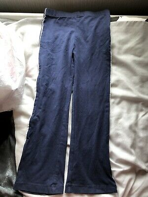 Nutmeg Girls Leggings Pants Age 4 To 5 Years Worn Once Navy Blue Excellent Cond