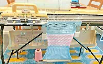 BROTHER KH891 PUNCHCARD KNITTING MACHINE  (Serviced & tested)