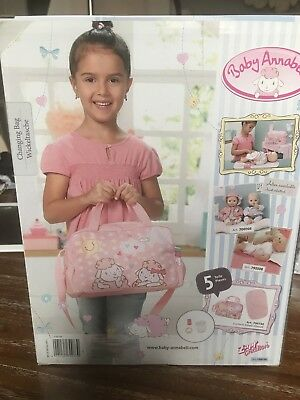baby annabell changing bag Brand New In Box