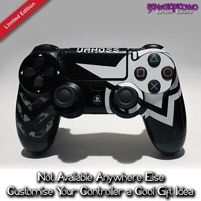 Ps4 Pro Skin Sticker Decal Cover 2 Controllers Black