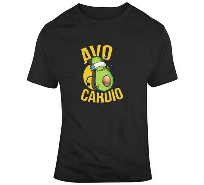 Avocado T-shirt Cardio Tee Gym Funny Avocardio Training Train T Shirt