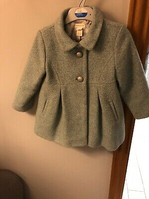 Monsoon Girls Winter Coat Age 2-3 In Good condition Beautiful Coat. Children's
