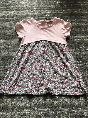 Girls Next 6-7 Pink Floral Tunic Top