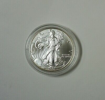 2001 Silver American Eagle  - 1 ounce