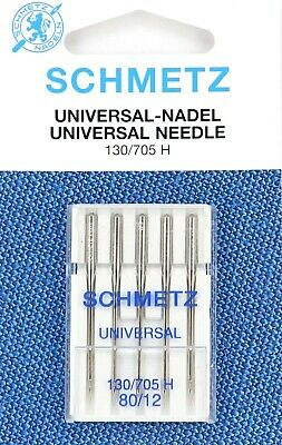 Schmetz sewing machine needles - choose from stretch, universal, microtex, etc.