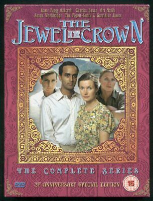 THE JEWEL IN THE CROWN complete series 4 DVDs Peggy Ashcroft Charles Dance