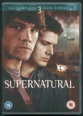 SUPERNATURAL the complete third season 5 DVDs
