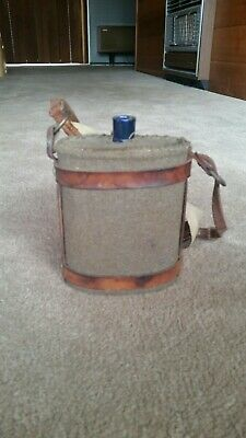 Vintage Army Water Flask world war two ww2 australian issue