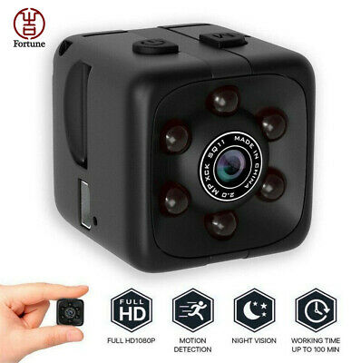 SQ11 Full HD 720P Mini DV DVR Security Camera Dash Cam Night Vision Surveillance
