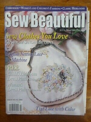 Sew Beautiful Magazine - Issue 62