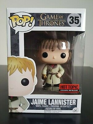 Game of Thrones Funko Pop - Jamie Lannister (Gold Hand) - Hot Topic - No. 35