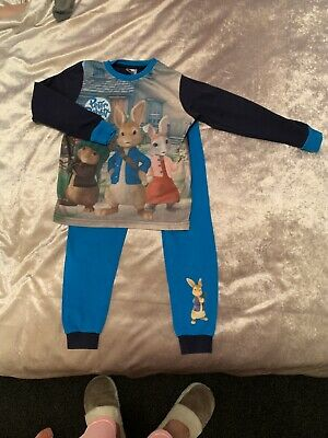Peter Rabbit Pyjamas Age 6-7 Years