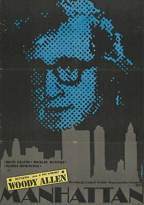Woody Allen Play It Again Vintage Large Movie Poster Art Print A0 A1 A2 A3 A4