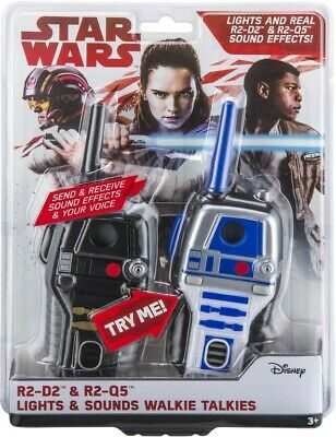 NEW Star Wars Walkie Talkies Lights & Sounds from Mr Toys