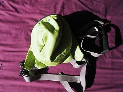 LittleLife Green Turtle Backpack with Reins, Good Condition