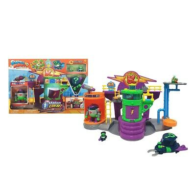 Superzings Kazoom Lab Battle Playset. Brand New. Includes Enigma And Professor K
