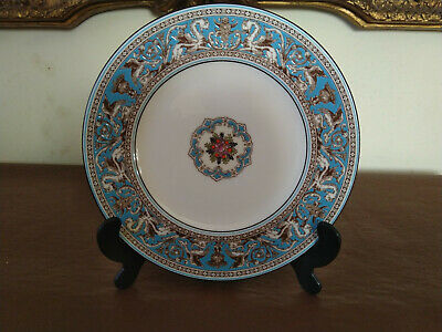 Wedgwood Florentine Turquoise 8 inch Plate First Quality in Excellent Condition