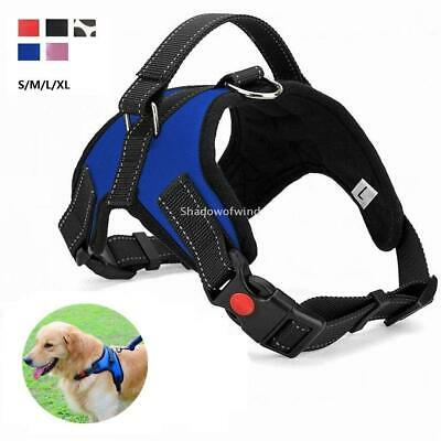 Dog Strap Harness No Pull Adjustable Reflective for Small Medium Large Dogs Walk